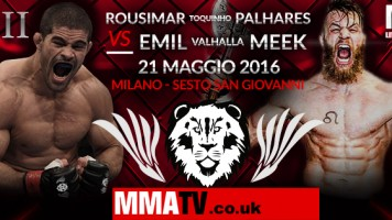 VENATOR FC 3: Rousimar Palhares vs Emil Meek – Click Here To Purchase Event