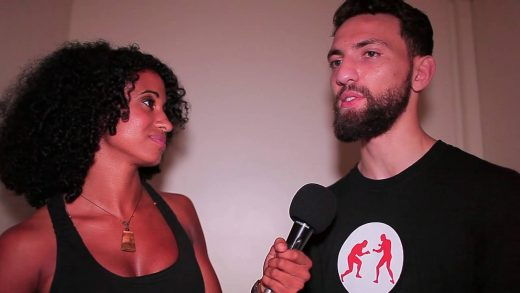 UCMMA 48: Javid Basharat Backstage Interview