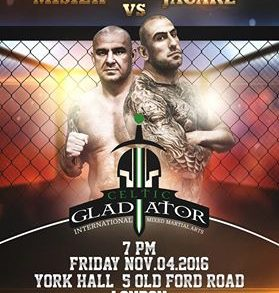 Celtic gladiator poster