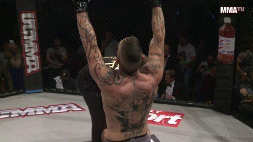Andy Cona big KO at ucmma 52