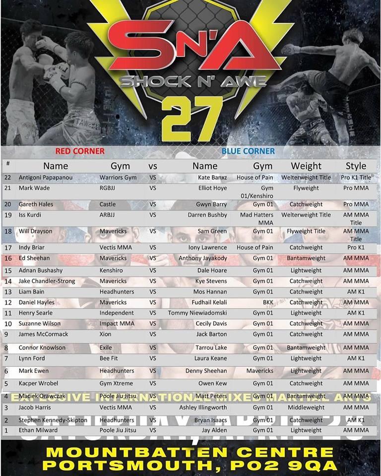 Shock n awe 27 card new