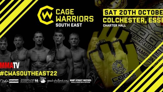 Cage warriors 22 header