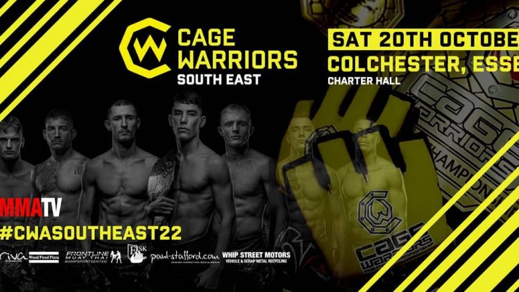 Cage Warriors Academy South East 22