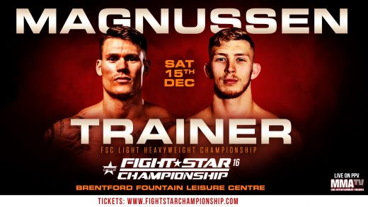 Fightstar 16 Cover Poster