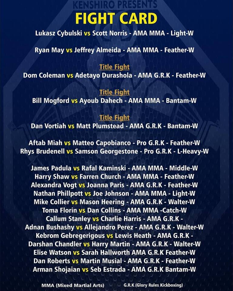 Victory fights 3 fight card