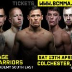 Cage warriors se april 13th