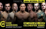 Cage Warriors South East 23