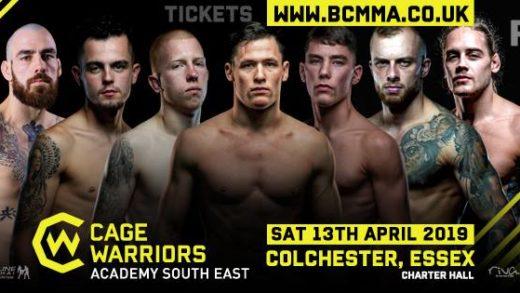 Cage warriors se april 13th