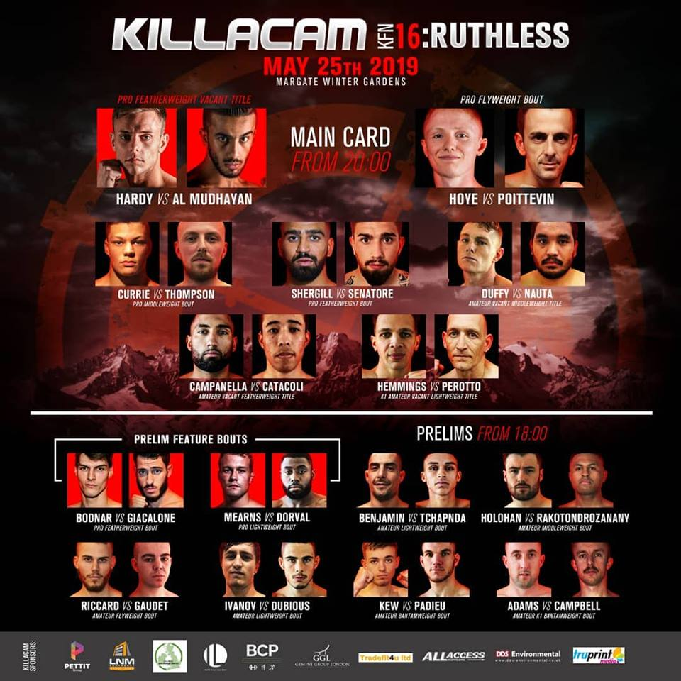 killacam fight card