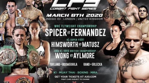 Combat fight series 6 header