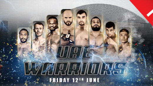uae warriors 11 free poster