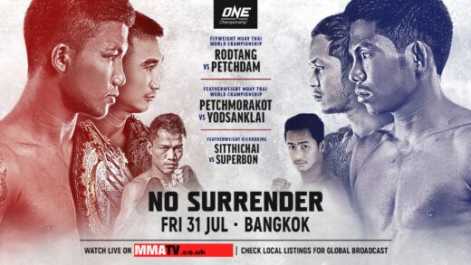 One championship No Surrender july 31st