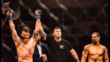Crazy Ufc Viking Emil Meek destroys Rousimar Palhares in 45 seconds