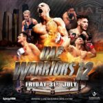 uae warriors 12 poster