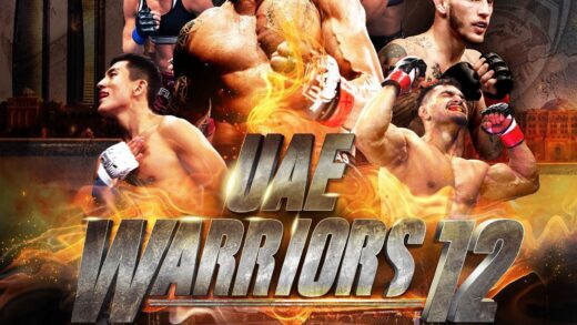 uae warriors 12 poster