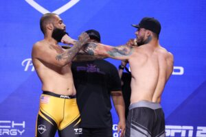 Jordan Young vs. Askar Mozharov