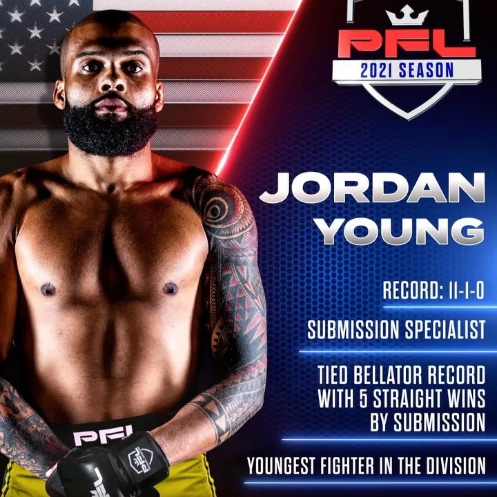 Jordan Young plans to be in the moment at PFL 2021 #2