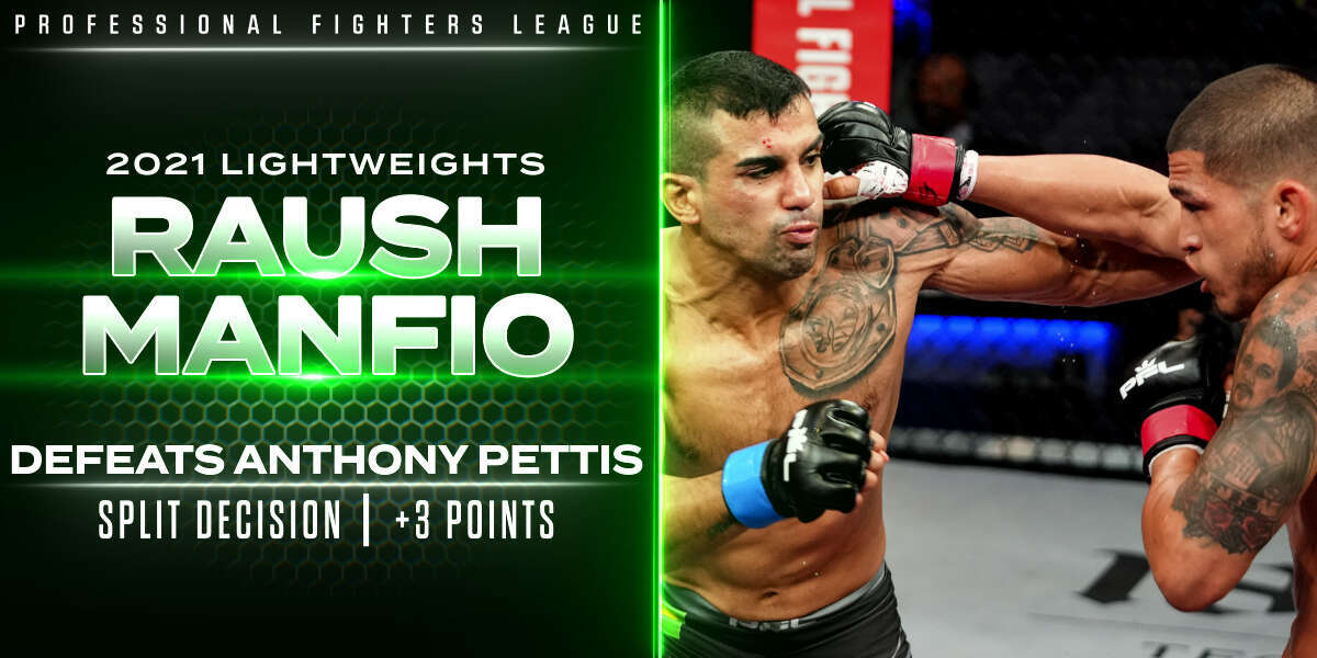 Manfio rocks Pettis late, snatches split-decision victory